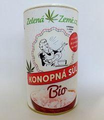Zelená země BIO Konopná sůl 165g