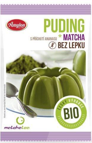 BIO puding s MatchaTea 40g Amylon