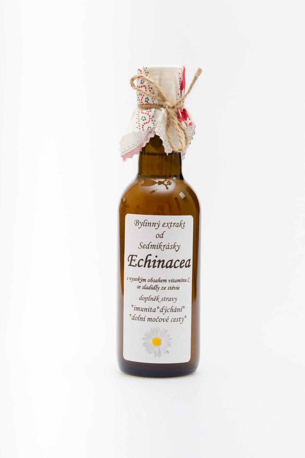 Bylinný extrakt Echinacea 250ml Rodinná farma Sedmikráska