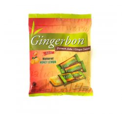 Gingerbon Natural Honey citron s medem