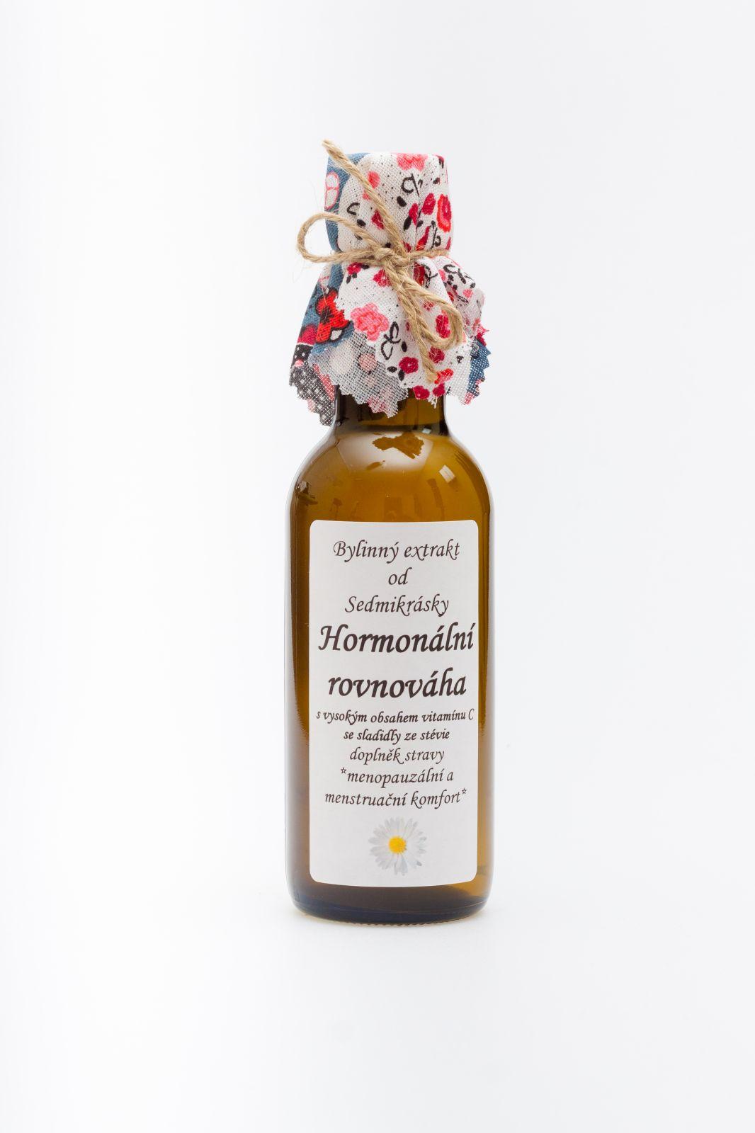 HORMONÁLNÍ ROVNOVÁHA - *menopauzální a menstruační komfort* Rodinná farma Sedmikráska