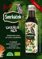 Kitl Smrkáček BIO sirup 250 ml