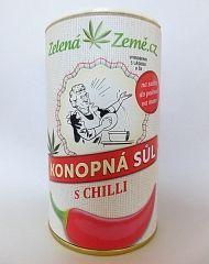 Zelená země Konopná sůl Chilli 165g