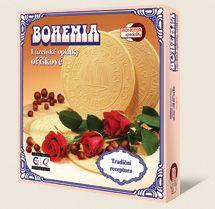 Lázeňské oplatky BOHEMIA oříškové jsou výráběny dle tradiční receptury Bohemia speciality s.r.o.