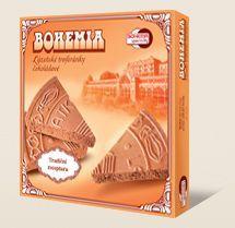 Lázeňské oplatky BOHEMIA trojhránky čokoládové 150g