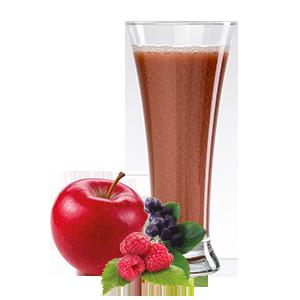 Ovocňák - Mošt 100% jablko+lesní ovoce 250ml 80% jablečná, 6,6% jahodová, 6,6% malinová a 6,6% šťáva z černé jeřabiny