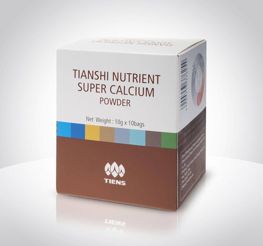 """Výživový vápníkový prášek 10x10g Korporace """"TIANSHI Ltd."""", LR"""