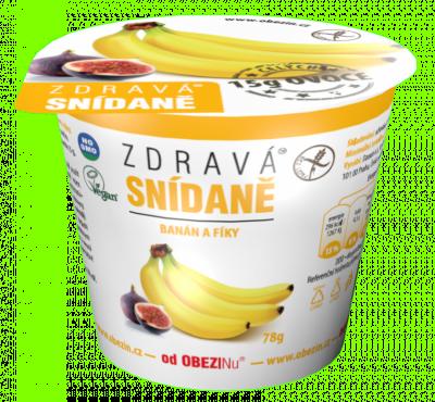 Zdravá snídaně Banán a fíky 78 g Danare a.s.