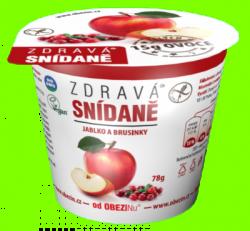 Zdravá snídaně  Jablko a brusinky 78 g
