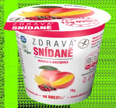 Zdravá snídaně mango a brusinky 78 g Danare a.s.