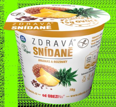 Zdravá snídaně meruňka a rozinky 78 g Danare a.s.