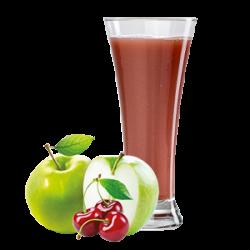 Ovocňák - Mošt 100% jablko+višeň 200 ml čistě přírodní produkty z ovoce a zeleniny, bez konzervantů, sladidel, barviv, jen 100% ovoce