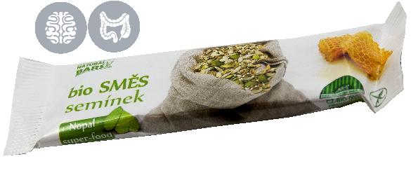 Bio Směs semínek 30 g Naturál Bars