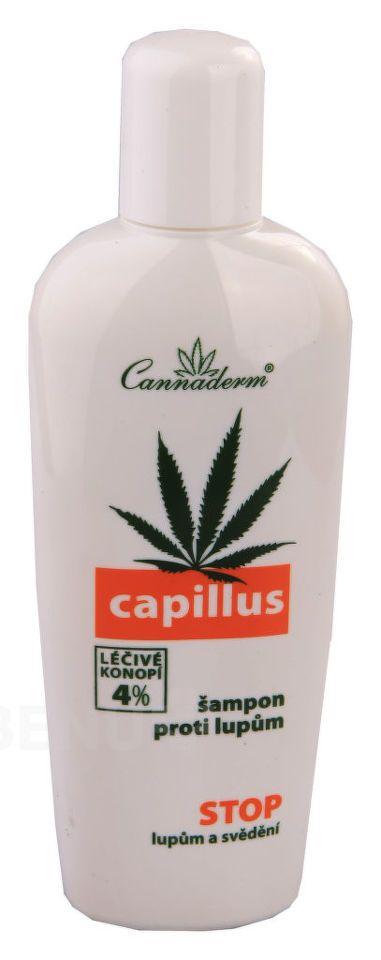 Capillus šampon účinný při problémech s padáním vlasů 150ml Cannaderm