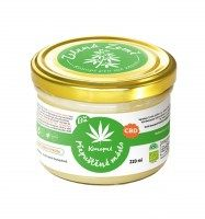 Zelená země CBD Ghí s konopím BIO - 220g Máselný tuk s konopím - doplněk stravy je vyroben přepuštěním čerstvého másla spolu s konopím České ghíčko s.r.o.