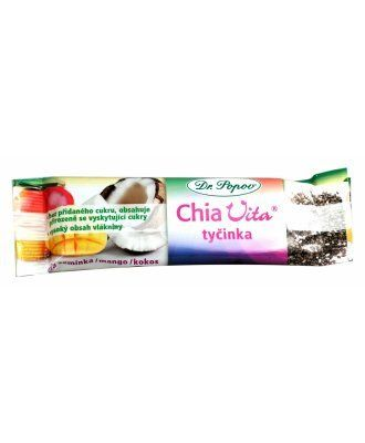 Chia Vita tyčinka Dr. Popov 40 g Naturál Bars