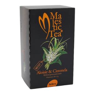Biogena Majestic Tea Aloisie & Citronela 20x2g Bylinný čaj aromatizovaný, porcovaný. Biogena CB s.r.o.
