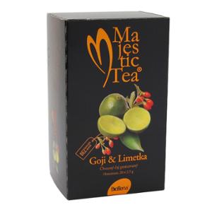 Biogena Majestic Tea Goji & Limetka 20x2,5g Ovocný čaj aromatizovaný, porcovaný. Biogena CB s.r.o.