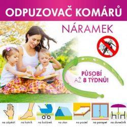 Dedra INSECTOFF Repelentní náramek proti komárům a klíšťatům Vaše Dedra, s.r.o.