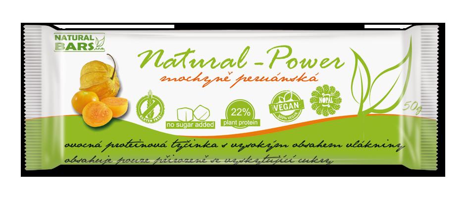 Natural Power – mochyně peruánská 50 g Naturál Bars