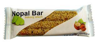 Nopal Tyčinka - lískový ořech 30 g Natural Bars
