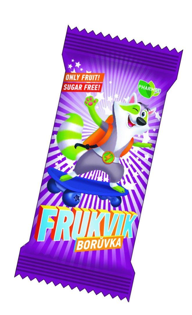 Ovocná tyčinka FRUKVIK pro děti boruvka Pharmind Corporation s.r.o.
