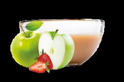Ovocňák  - Pyré jablko+jahoda