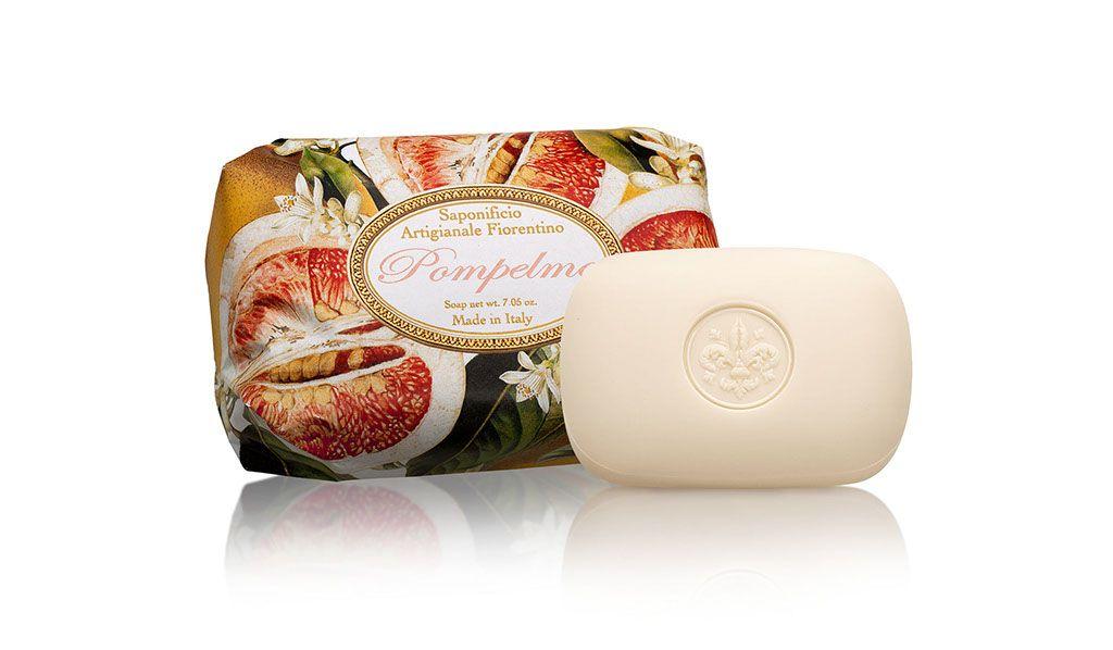 Ručně balené mýdla Saponificio Artigianale Fiorentino - Mýdlo Pompelmo 200gr