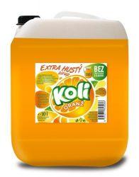 Koli sirup EXTRA hustý 10lt pomeranč