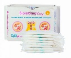 Anion BioIntimo dámské hygienické denní vložky DUO pack 2x10ks s anionovým páskem BioIntimo Corporation