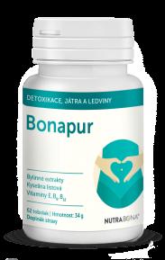 BONAPUR tobolky 62ks pro vnitřní očista těla, optimalizace homocysteinu NUTRA-BONA