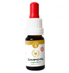 CBD konopný olej s rozmarýnem - regenerační sérum