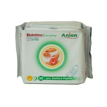 Dámské hygienické intimky s aniontovým proužkem BioIntimo Corporation
