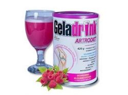 GELADRINK ARTRODIET - malina, nápoj - 420g