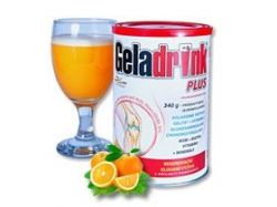 GELADRINK PLUS - pomeranč, nápoj - 340g