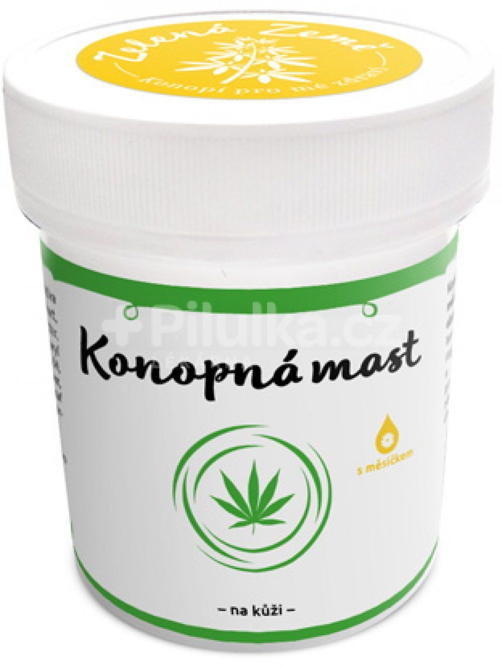 Zelená země Konopná mast s měsíčkem lékařským je skvělá péče o pokožku celého těla. 100% čistá - bez ropných produktů, palmového oleje. 100ml Zelená Země s.r.o.