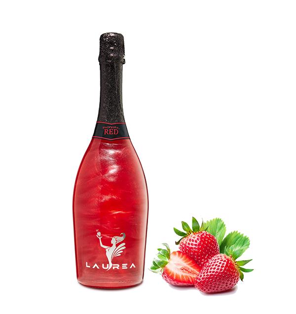 Royal Red lesní jahody Magic Royal Wine 0,75lt perlové magické víno s bublinkami Laurea Company sro
