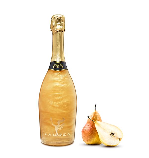 Royal Gold hruška Magic Royal Wine 0,75lt perlové magické víno s bublinkami hruška Laurea Company sro