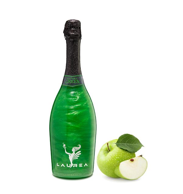 Royal Green jablko Magic Royal Wine 0,75lt perlové magické víno s bublinkami Laurea Company sro