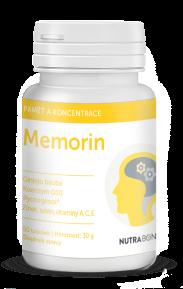 MEMORIN tobolky 50ks - superantioxidant s vybranými bioflavonoidy NUTRA-BONA