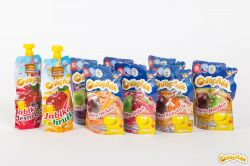 Ovocňák - Mošt 100% jablko+mrkev 200 ml čistě přírodní produkty z ovoce a zeleniny, bez konzervantů, sladidel, barviv, jen 100% ovoce