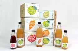 Podorlická sodovkárna mošt 80 % jablko 20 % hruška 0,75 l - Kombinace nejpopulárnějšího moštového ovoce uspokojí každého. Podorlická sodovkárna Rychnov n/ Kněžnou