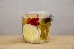 Tržan Pikantní nakládaný Camembert 6 x 80 g v kelímku