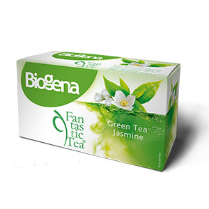 Biogena Fantastic Tea Jasmine Green20 x 1,75 g porcovaný čaj Biogena CB s.r.o.