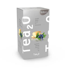 Biogena Tea2O Borůvka & Ženšen 20x2,3g Ovocný čaj, aromatizovaný, porcovaný. Biogena CB s.r.o.