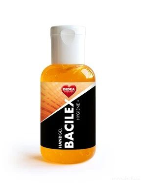 Dedra HANDGEL BACILEX HYGIENE+ 50ml čisticí gel na ruce s vysokým obsahem alkoholu Vaše Dedra, s.r.o.