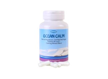 Hafkalk OCEAN CALM – 60 kapslí poskytuje hořčík a vápník v poměru 2: 1 doplněk stravy