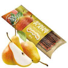 Ovocňák - Ovocné plátky Jablko - hruška 20g - 80 % jablečná dřeň a 20 % hrušková dřeň