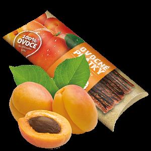 Ovocňák - Ovocné plátky - Jablko - meruňka 20g - 80% jablečná dřeň, 20% meruňková dřeň.