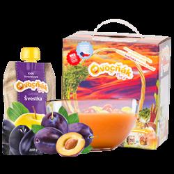 Ovocňák - Pyré Jablko - švestka 200 ml